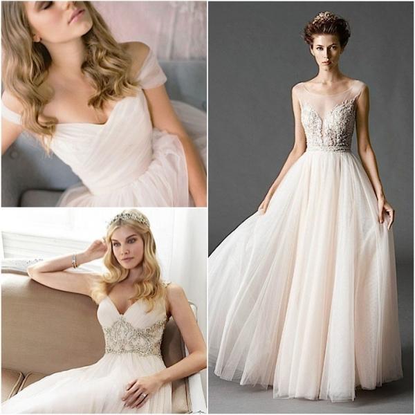 85a5c18989 Często tiulowe suknie są dwuczęściowe