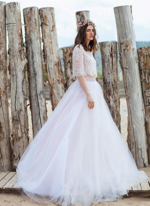 Suknie ślubne Z Tiulu Lekko I Romantycznie