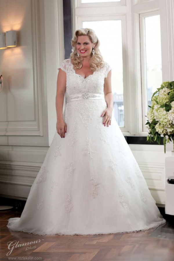 e64c7b5c6e Jak wybrać suknię ślubną plus size Suknia ślubna dla puszystej