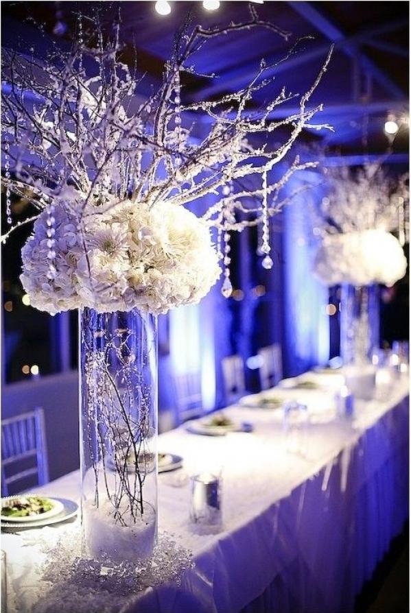 Kilka Pomysłów Na śnieżne Dekoracje Weselne ślub Na Głowie