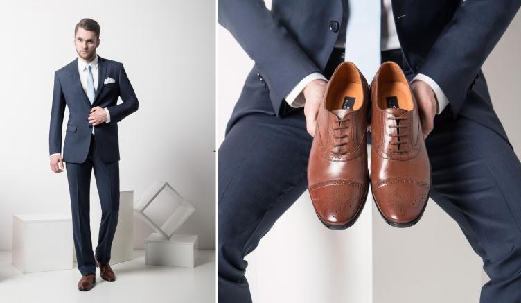 bf68f0f21451f Poniżej wklejamy krótką i przydatną ściągę z doboru koloru obuwia do koloru  garnituru ślubnego. Podczas czytania miejcie na uwadze jedno: nigdy nie  udaje ...