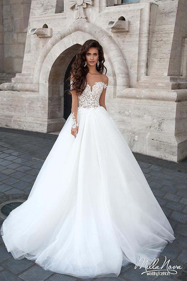 Inspiruj ce suknie lubne na jesie i zim for Most beautiful long sleeve wedding dresses