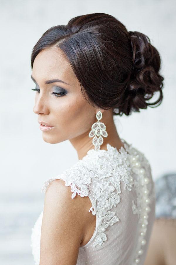 свадебные прически из длинных волос в спб