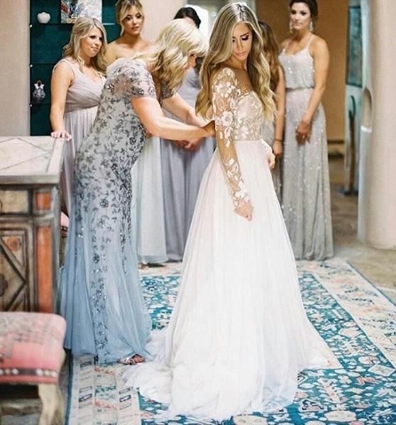 Wszystko O Seksownych Sukniach Do ślubu Nowy ślubny Trend Illusion