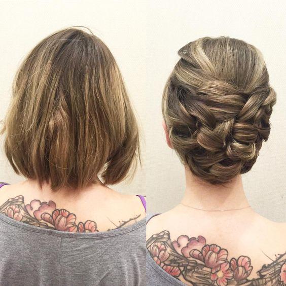 Fryzury ślubne Dla Panien Młodych O Półdługich Włosach