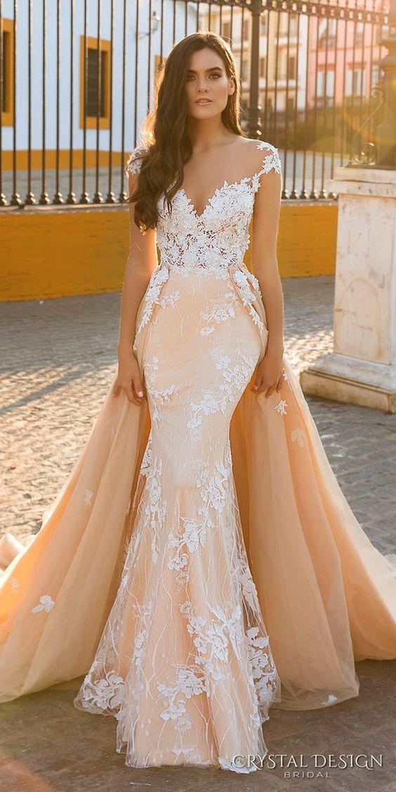 Moda Na Wygodne I Stylowe Suknie ślubne Typu Overskirt