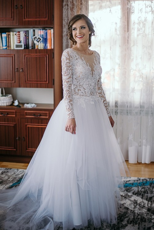 27a2319cee Suknie - Suknia ślubna - 1 500