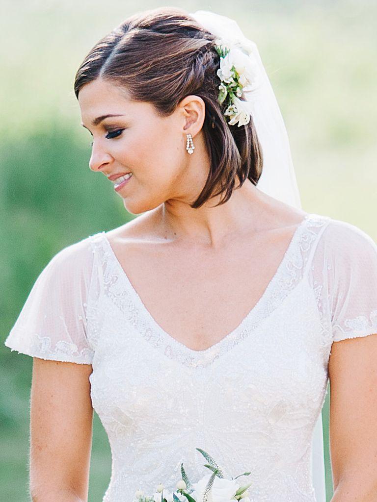 8 Pomysłów Na ślubny Warkocz Dla Panny Młodej O Krótszych Włosach