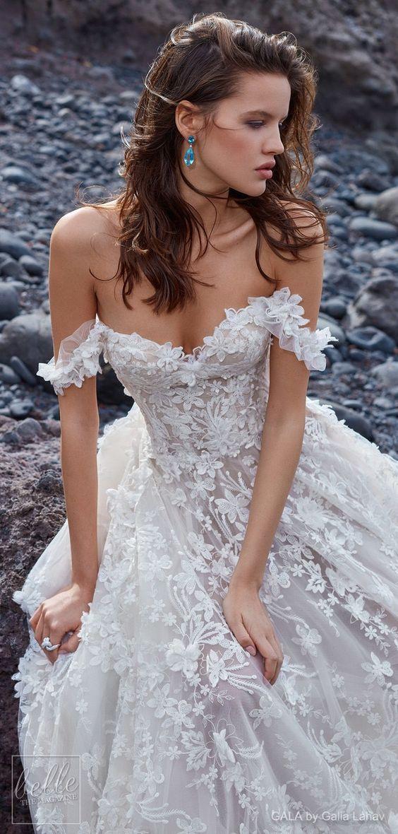 Romantyczny Trend Sezonu Suknie ślubne Z Opadającymi Ramiączkami