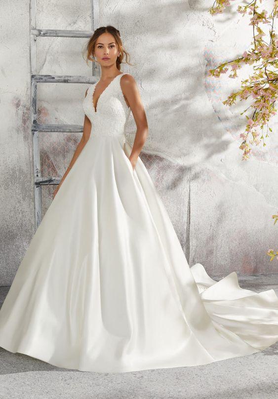 Najmodniejsze Suknie ślubne Na 2019 Rok