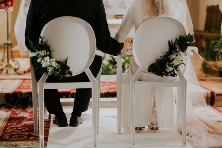 Modernistyczne Jak ustroić kościół na ślub Ślubne dekoracje kościoła UC63