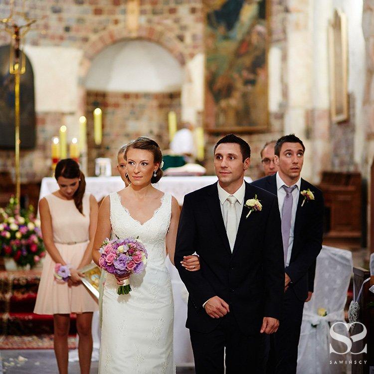 Polsko Francuski ślub Małgosi I Damiena ślub Na Głowie
