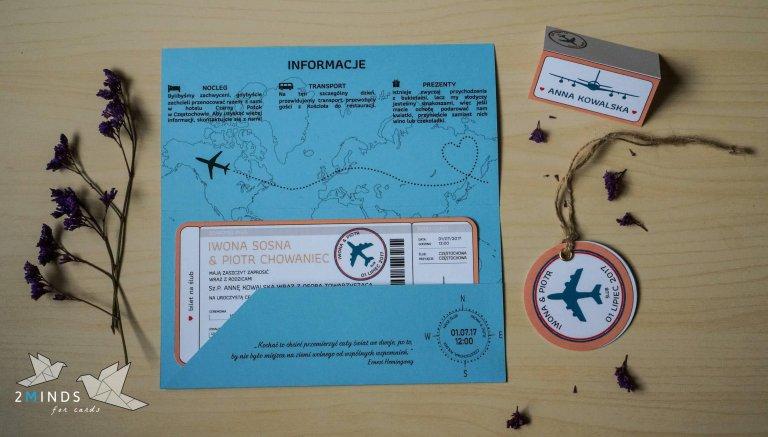 Bilet Lotniczy ślub Na Głowie