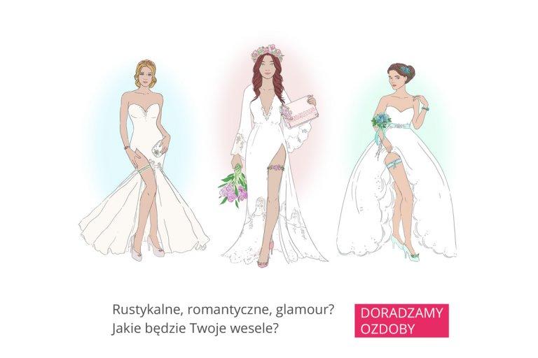 Rustykalne Romantyczne Glamour Jakie Będzie Twoje Wesele I Suknia