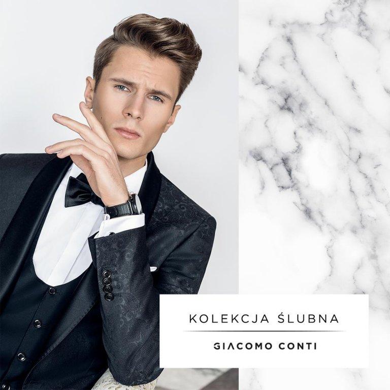 dfd40b64e5774 Kolekcja ślubna Giacomo Conti 2018 - poznaj perfekcyjne garnitury