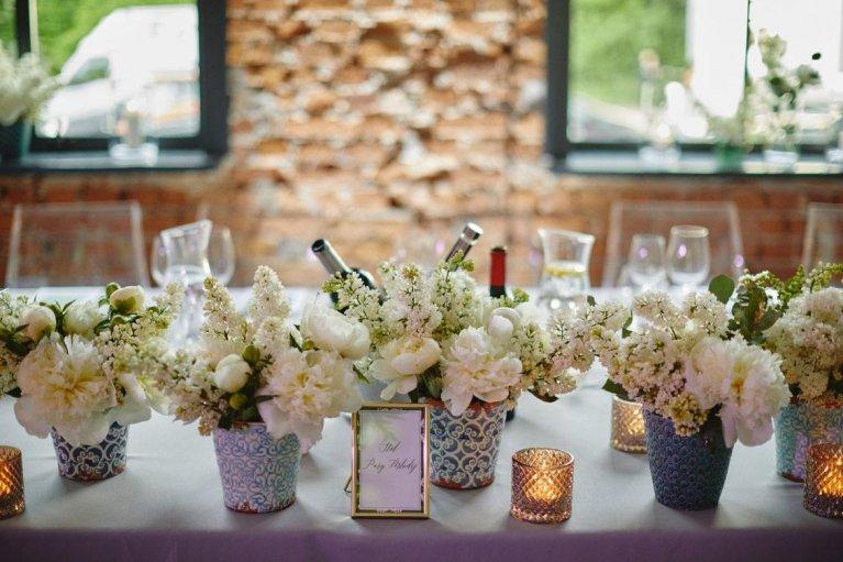 Unikalne Dekoracja stołu pary młodej - Ślub Na Głowie - TW89